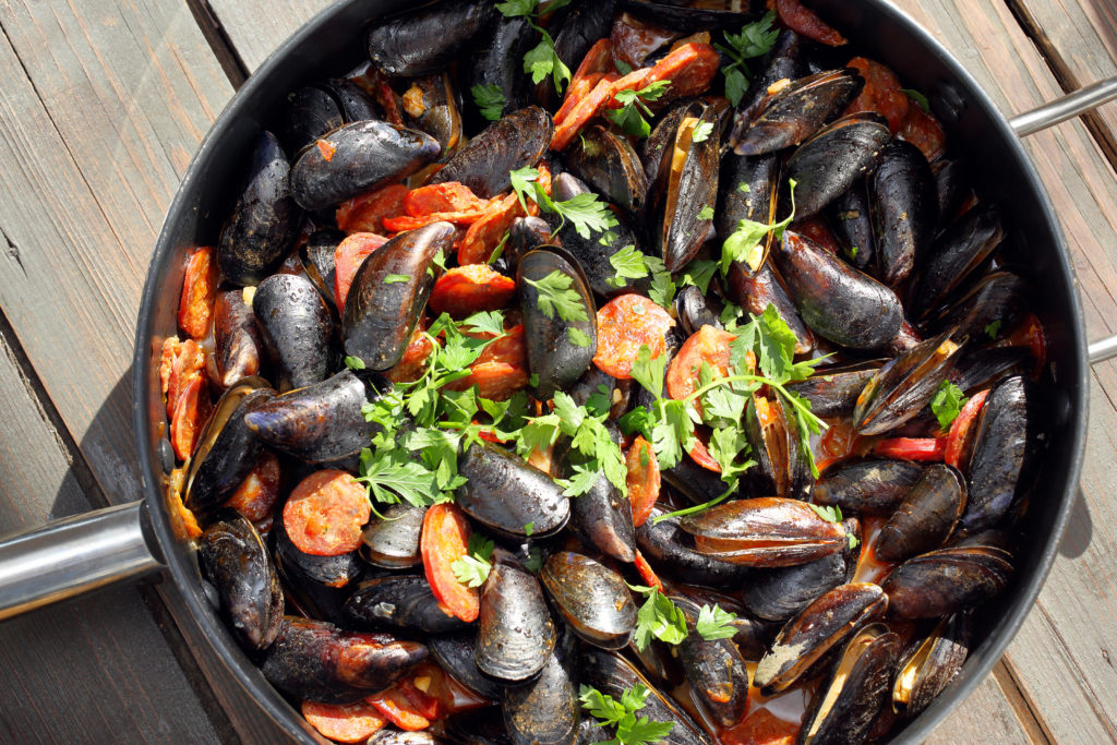 recette_moules_espagnole_chorizo_plancha